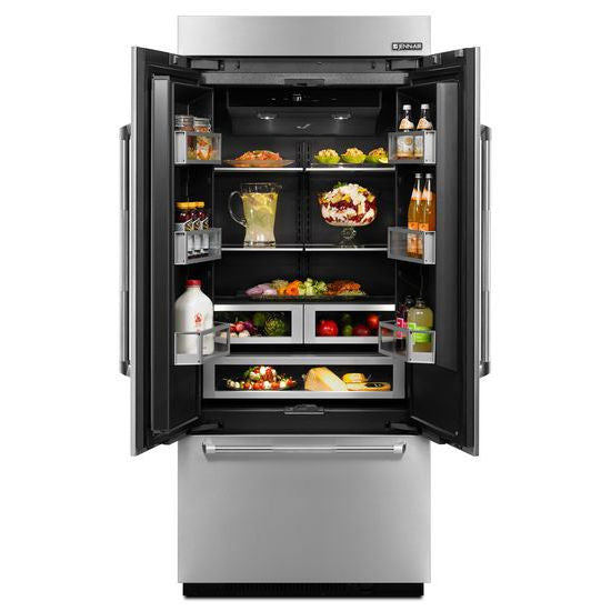JENN-AIR JF36NXFXDE 36-Inch Built-In French Door Refrigerator