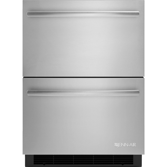 "JENN-AIR 24"" Double-Refrigerator Drawers jud24frers"