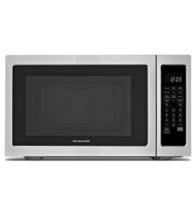 KITCHENAID KCMC1575BSS 1200-Watt Countertop Convection Microwave Oven