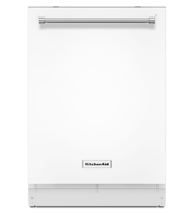 KitchenAid 24 in. Top Control Dishwasher in White KDTE254EWH