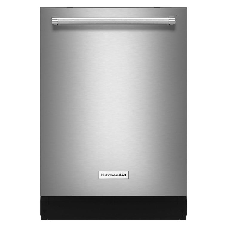 KitchenAid KDTM354ESS 24 in. Top Control Dishwasher in Stainless Steel with Stainless Steel Tub