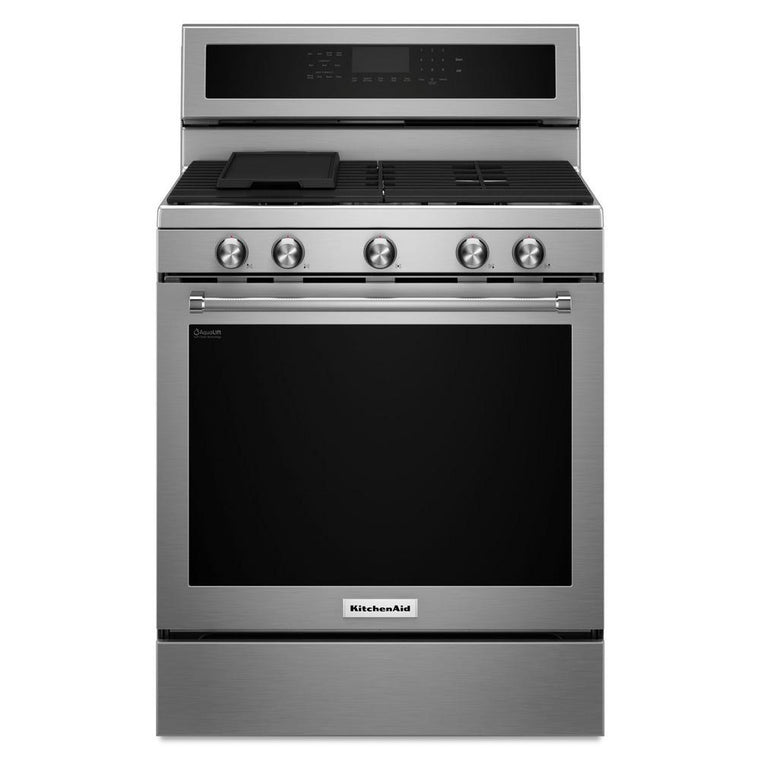 KitchenAid 30 in. 5.8 cu. ft. Gas Range KFGG500ESS