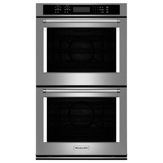 "KITCHENAID KODE500ESS 30"" Double Wall Oven with Even-Heat™ True Convection"