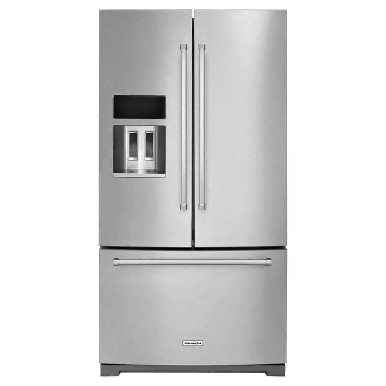 KitchenAid KRFF507ESS 36 in. W 26.8 cu. ft. French Door Refrigerator