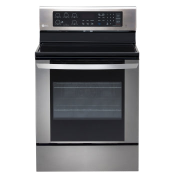 LG LRE3061ST 30 Inch Electric Range