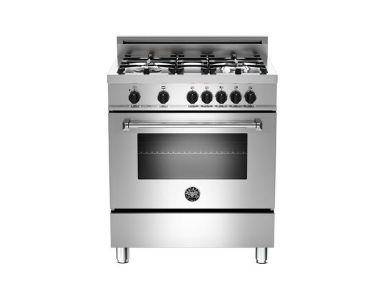 "BERTAZZONI 30"" 4-Burner, Electric Oven"