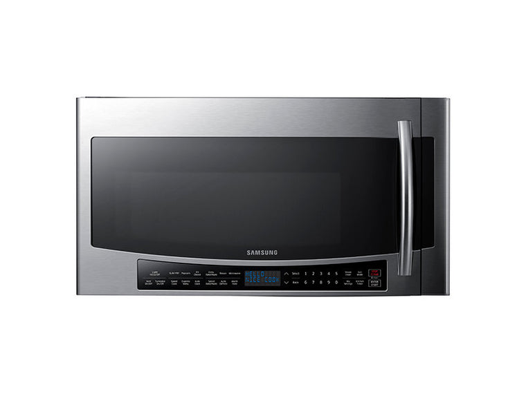 Samsung MC17J8000CS 1.7 cu. ft. Over-The-Range Convection Microwave