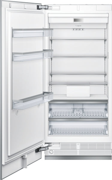 THERMADOR T36IF900SP 36-Inch Built-in Panel Ready Freezer Column with Internal Ice Maker