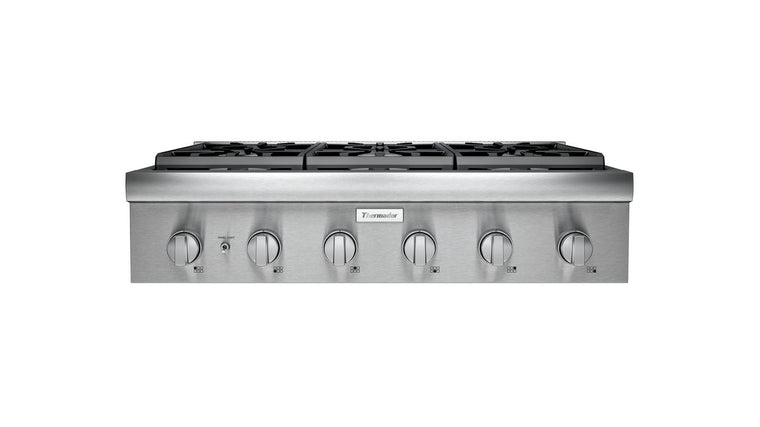 THERMADOR PCG366W 36-Inch Professional Rangetop