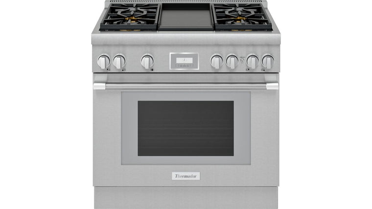 THERMADOR PRG364WDH 36-Inch Pro Harmony® Standard Depth Gas Range