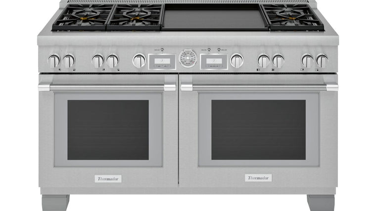 THERMADOR PRD606WEG 60-Inch Pro Grand® Commercial Depth Dual Fuel Range