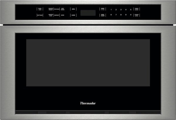Thermador Masterpiece Professional Series MD24JS 24 Inch Built-in Microwave Drawer