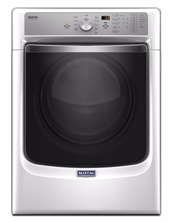 MAYTAG MED8200FW LARGE CAPACITY DRYER WITH REFRESH CYCLE WITH STEAM AND POWERDRY SYSTEM