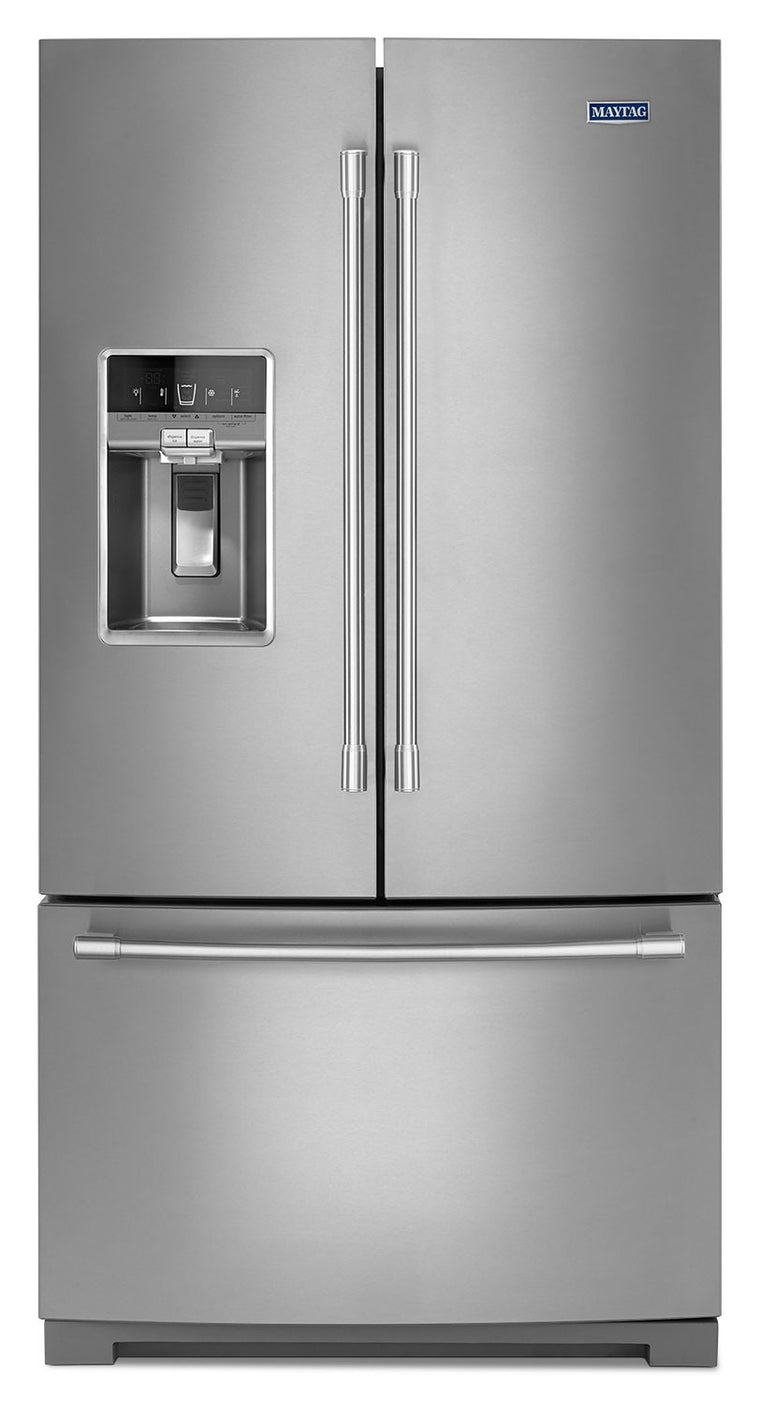 MAYTAG MFT2776FEZ 36- INCH WIDE FRENCH DOOR REFRIGERATOR WITH DUAL COOL® EVAPORATORS - 27 CU. FT.