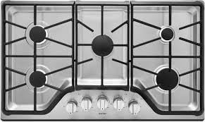 MAYTAG MGC9536DS 36-INCH WIDE GAS COOKTOP WITH DURAGUARD™ PROTECTIVE FINISH