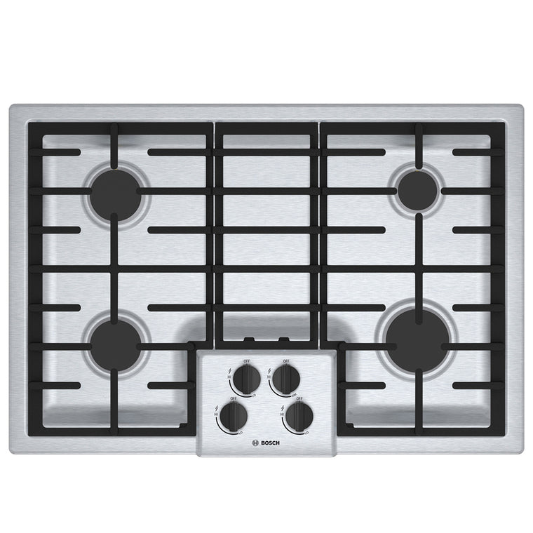 Bosch 300 Series NGM3054UC 30 Inch Gas Cooktop