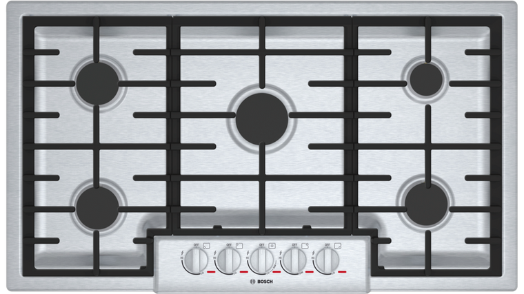 "Bosch NGMP655UC 800 Plus 36"" 5 BURNER COOKTOP"
