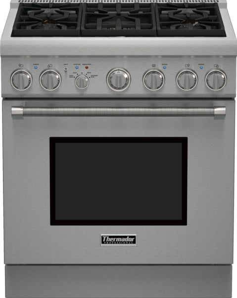 Thermador Pro Harmony Professional Series PRG305PH 30 Inch Pro-Style Gas Range