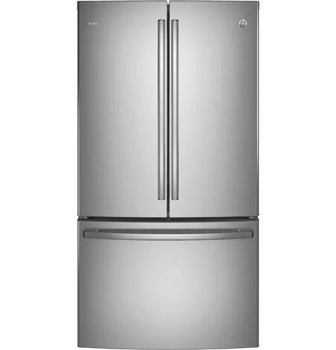 GE PWE23KSKSS Profile™ Series ENERGY STAR® 23.1 Cu. Ft. Counter-Depth French-Door Refrigerator