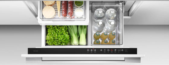 Fisher & Paykel Active Smart RB36S25MKIW1 34 Inch Built-in Single Drawer Panel Ready Refrigerator-Freezer