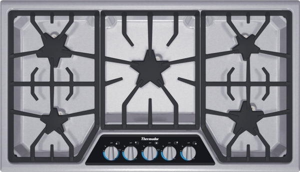 Thermador Masterpiece Deluxe Series SGSX365FS 36 Inch Gas Cooktop