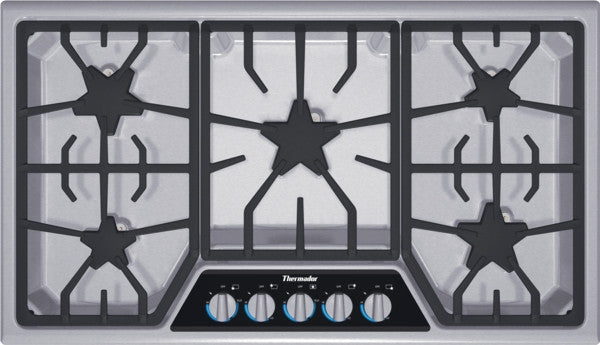 THERMADOR SGSX365FS 36 INCH MASTERPIECE® SERIES GAS COOKTOP