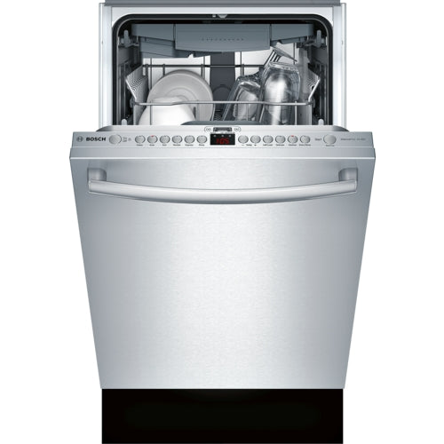 Bosch 800 Series SPX68U55UC 18 Inch Fully Integrated Dishwasher