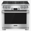 "MIELE HR 1134-1 G 36"" Range All Gas with DirectSelect"