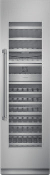 Thermador Freedom Collection T24IW800SP 24 Inch Built-in Fully Flush Wine Preservation Column