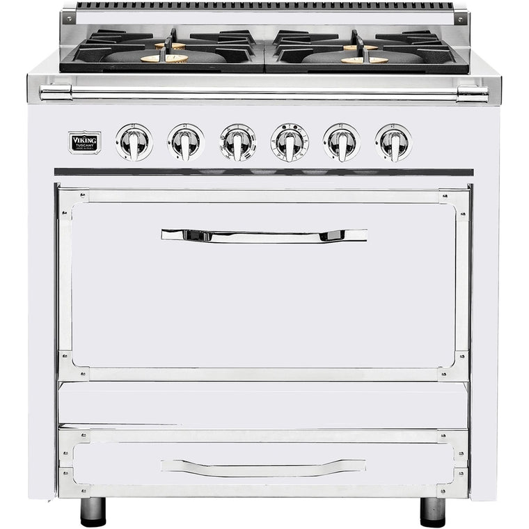 Viking Tuscany Series TVDR3604BAW 36 Inch Pro-Style Dual Fuel Range