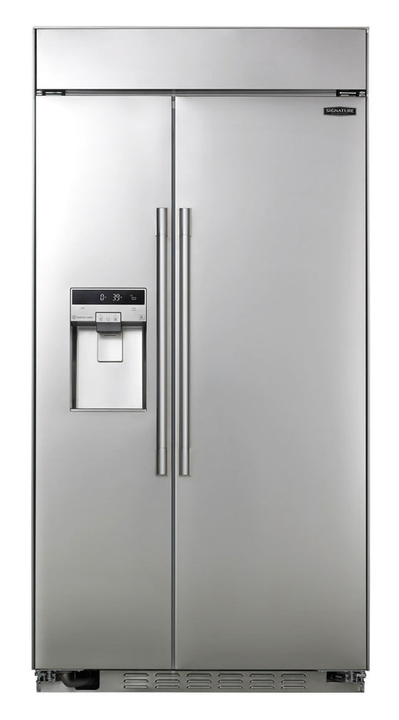 "LG SIGNATURE UPSXB2627S 42"" Built-in 25.6 cu.ft.  Side-by-Side Refrigerator"