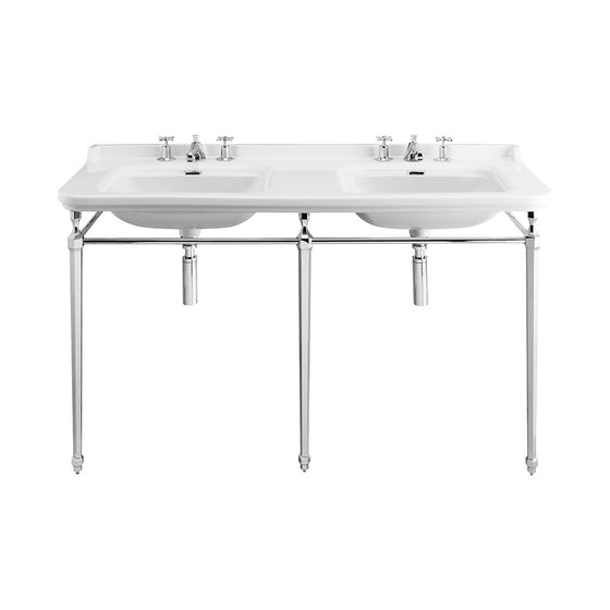 "Waldorf 59"" Double Sink Console Set"