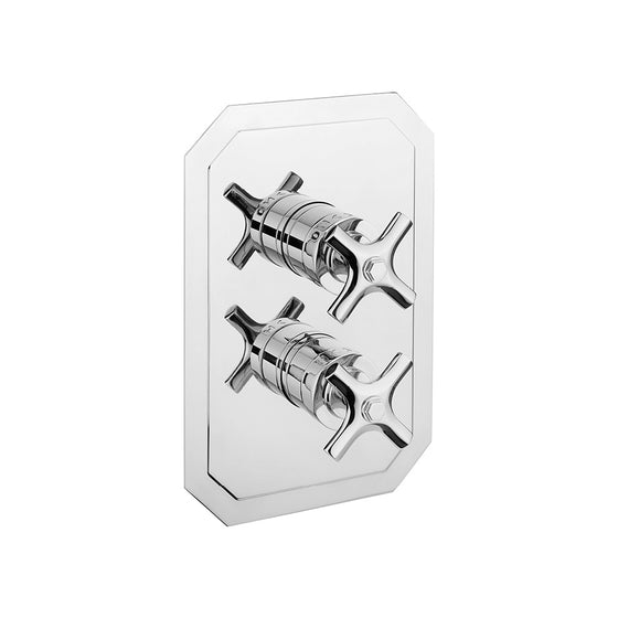 Waldorf Crosshead 1000 Thermostatic Trim with Single Integrated Volume Control