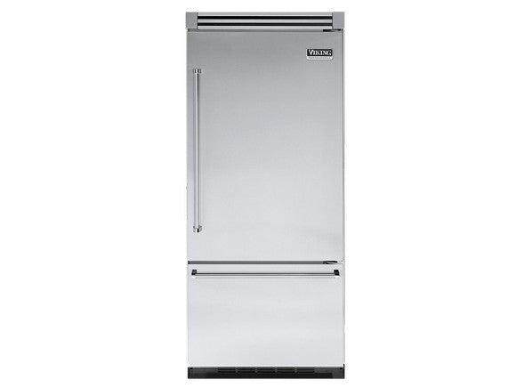 Viking Professional 5 Series VCBB5363ERSS 36 Inch Built-In Bottom-Freezer Refrigerator