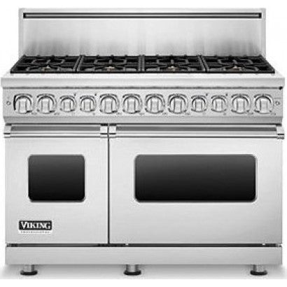 Viking Professional 7 Series VDR7486GBK 48 Inch Pro-Style Dual-Fuel Range