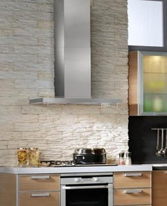 Best Harmonia Series WC45IQ90SB 36 Inch Wall Mount Chimney Range Hood