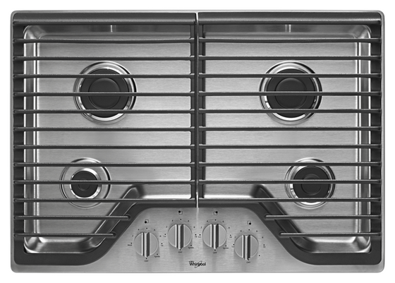 Whirlpool WCG51US0DS 30 Inch Gas Cooktop