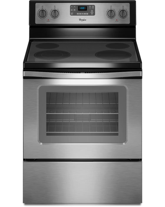 Whirlpool WFE515S0ES 30 Inch Freestanding Electric Range