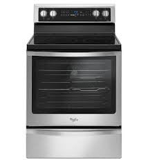WHIRLPOOL WFE745H0FS 6.4 Cu. Ft. Freestanding Electric Range with True Convection