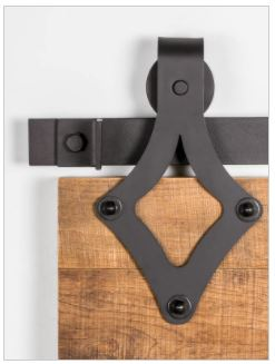 WIDE TEARDROP BARN DOOR HANGER
