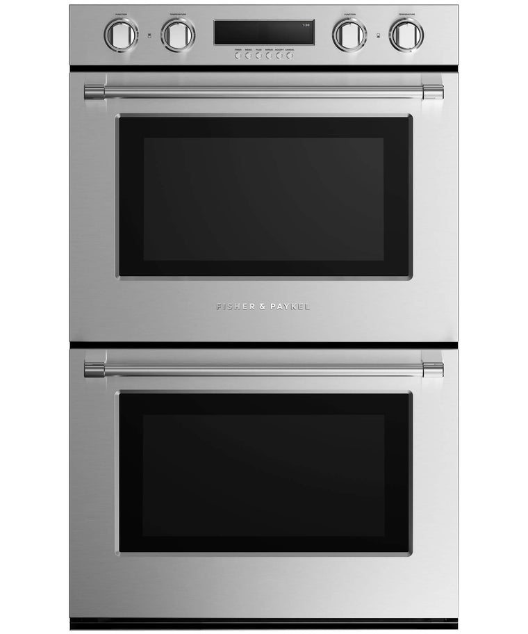 FISHER & PAYKEL WODV2-30_N  Double Built-in Oven 30""