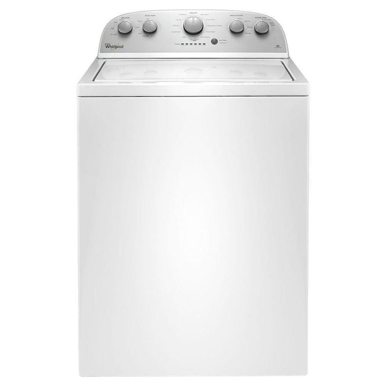 WHIRLPOOL WTW4816FW 3.5 cu. ft. Top Load Washer with the Deep Water Wash option