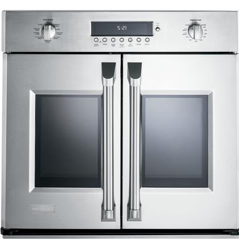 "Monogram ZET1FHSS 30"" Professional French-Door Electronic Convection Single Wall Oven"