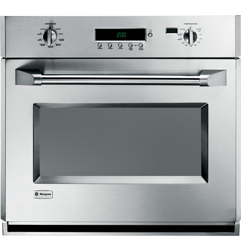 Monogram ZET1PHSS 30 Inch Single Electric Wall Oven