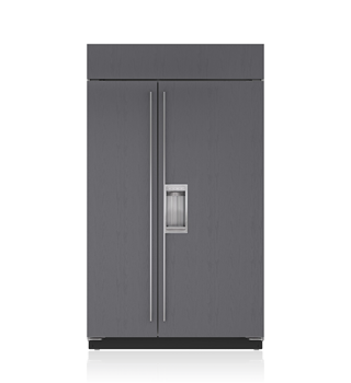 "Sub-Zero BI-48SD/O 48"" Classic Side-by-Side Refrigerator/Freezer with Dispenser - Panel Ready"