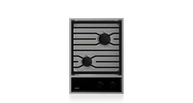 "Wolf CG152TF/S 15"" Transitional Gas Cooktop"