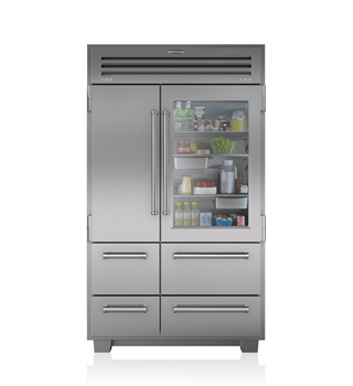 Sub-Zero 648PROG PRO 48 with Glass Door - Legacy Model