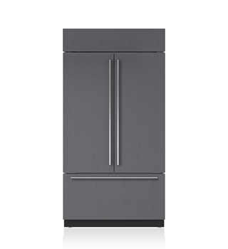"Sub-Zero BI-42UFDID/O 42"" Classic French Door Refrigerator/Freezer with Internal Dispenser - Panel Ready"