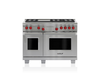 "Wolf DF486G 48"" Dual Fuel Range - 6 Burners and Infrared Griddle"