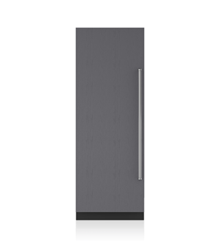 "Sub-Zero IC-30FI 30"" Designer Column Freezer with Ice Maker - Panel Ready"